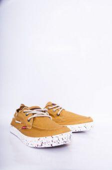 Giày nam thắt dây đơn màu 18010