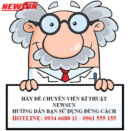 Hãy để kĩ thuật viên Newsun hướng dẫn bạn sử dụng!