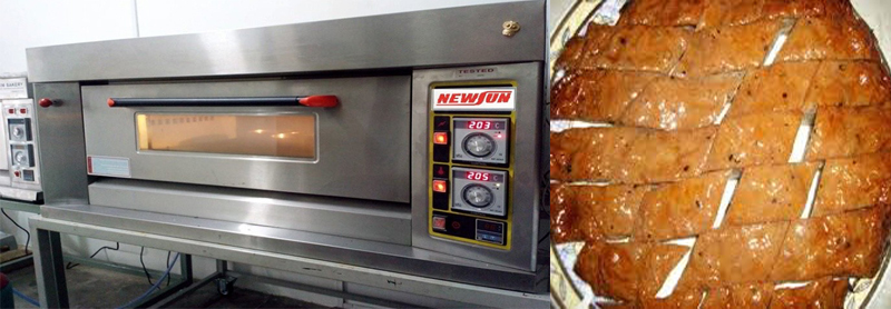 máy nướng chả quế thiết kế ngang Newsun