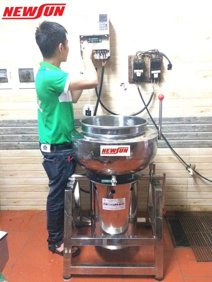 kĩ thuật lắp và hướng dẫn sử dụng máy xay giò chả