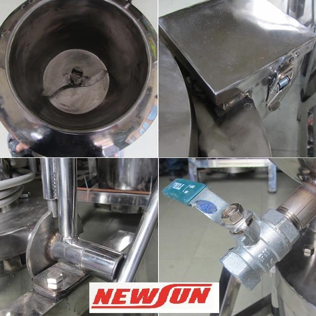 Hình ảnh chi tiết máy xay giò chả mini NEWSUN