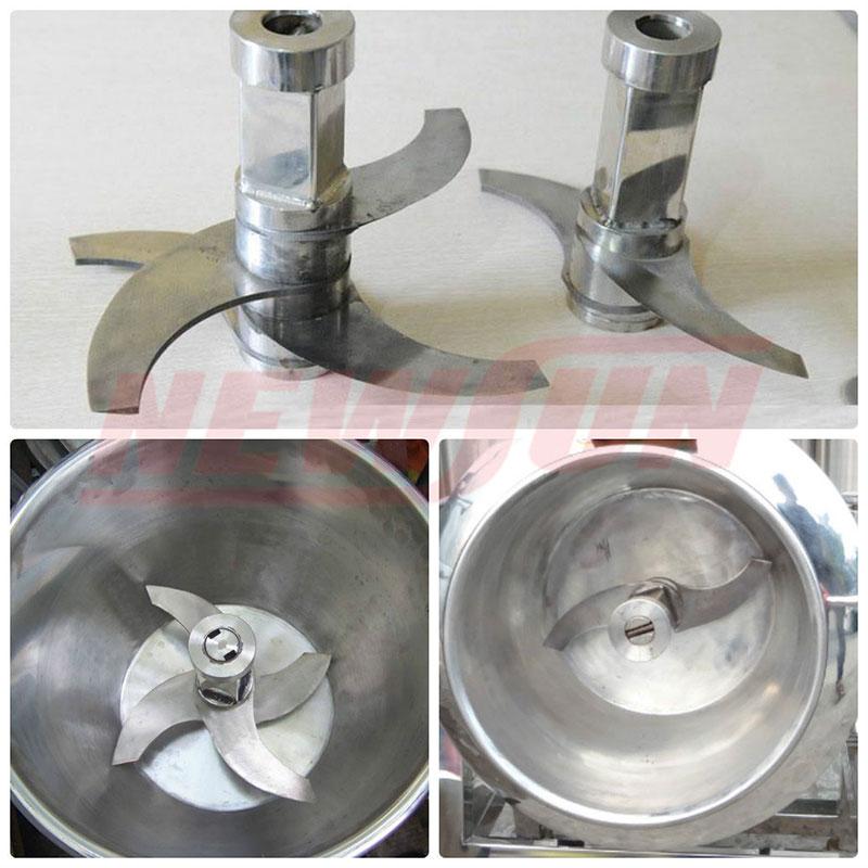 máy xay giò chả NEWSUN được làm từ Inox 304 cao cấp