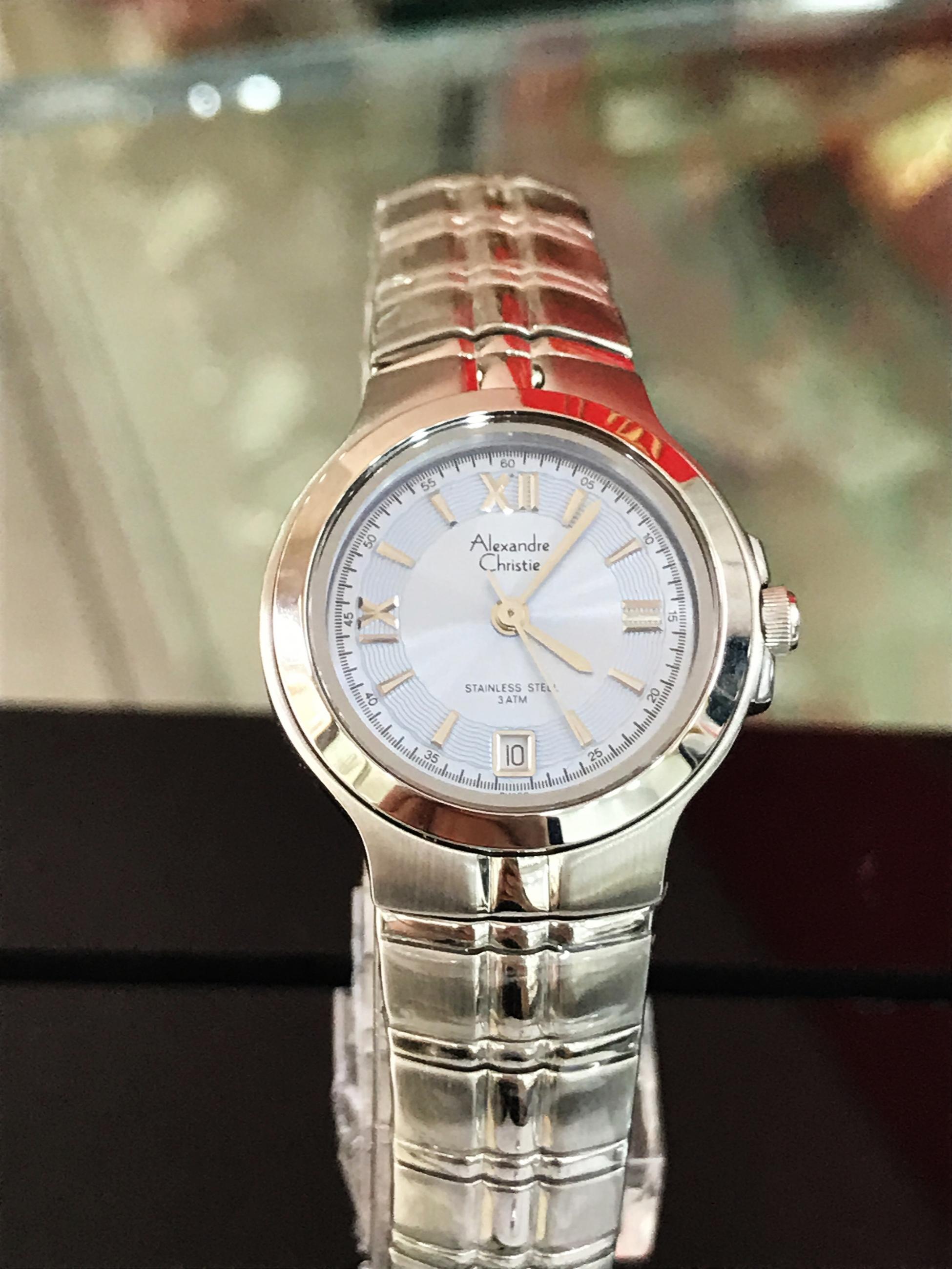 Đồng hồ Alexander Christie nữ chính hãng AC8A14A-LS
