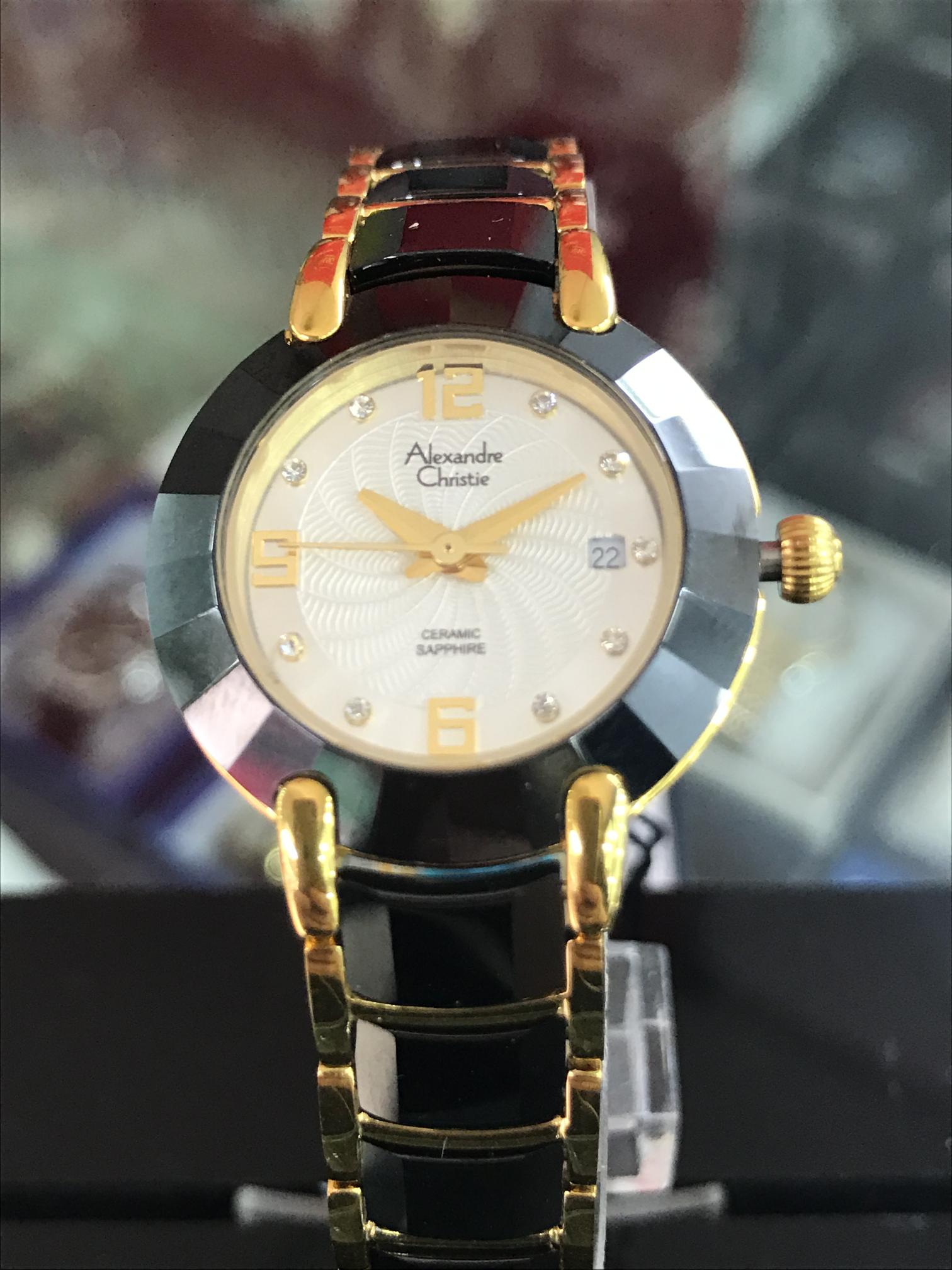 Đồng hồ Alexandre Christie 8B66B-LGPCR