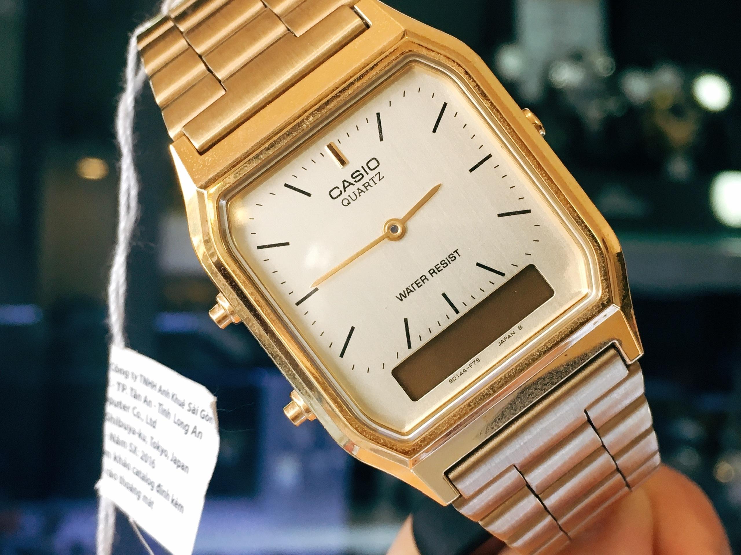 Đồng hồ nam nữ Casio AQ-230GA-9DMQ