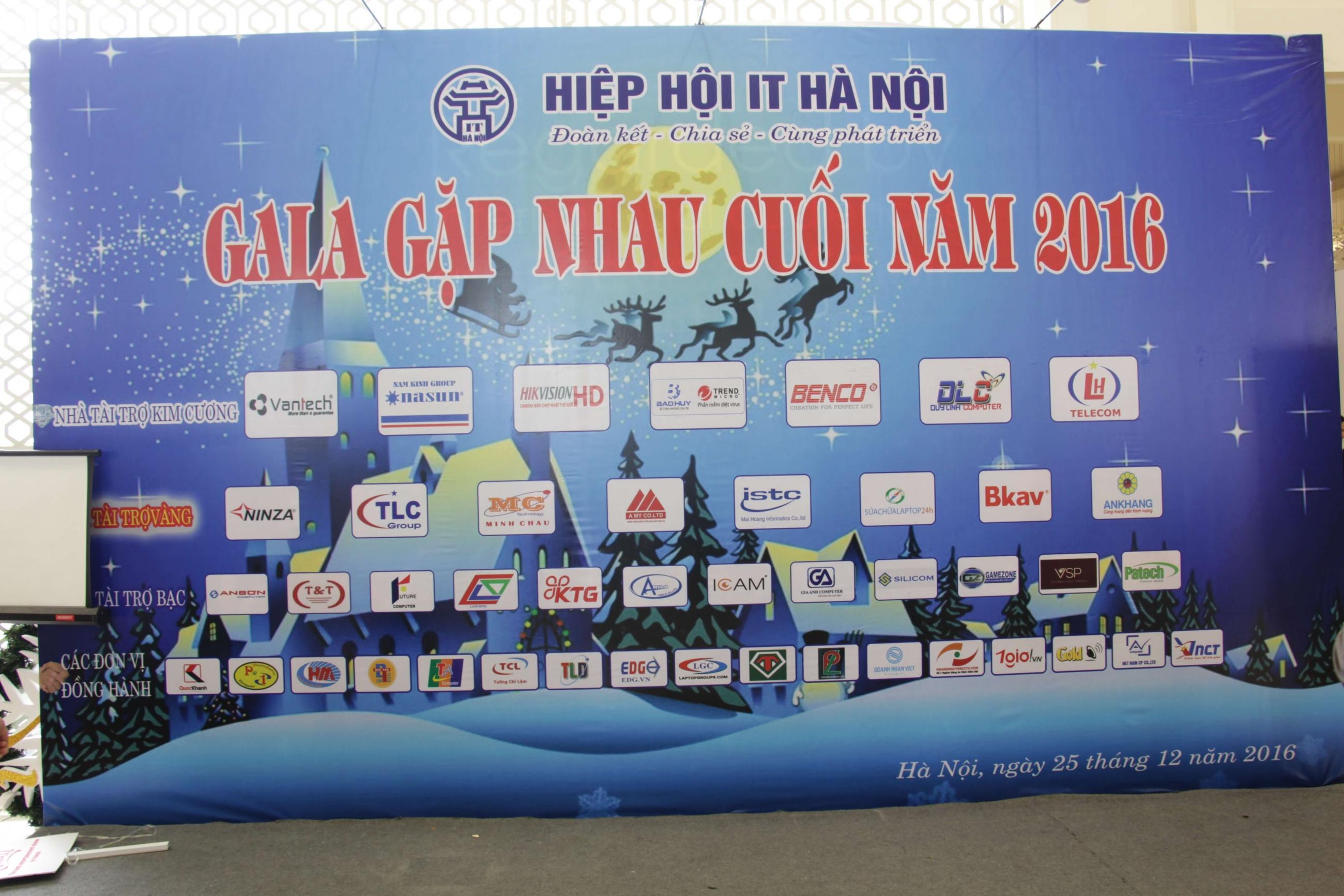 Danh sách các nhà tài trợ và đơn vị đồng hành cùng Gala
