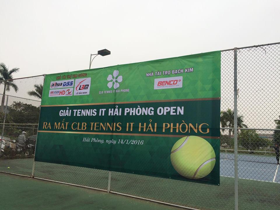 Giải Tennis IT Hải Phòng Open