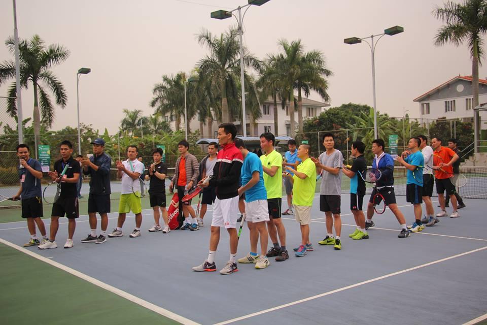 Các vận động viên tham gia giải