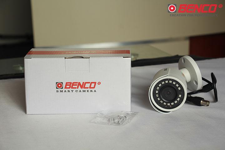 Trọn bộ sản phẩm camera BEN - CVI1230BM