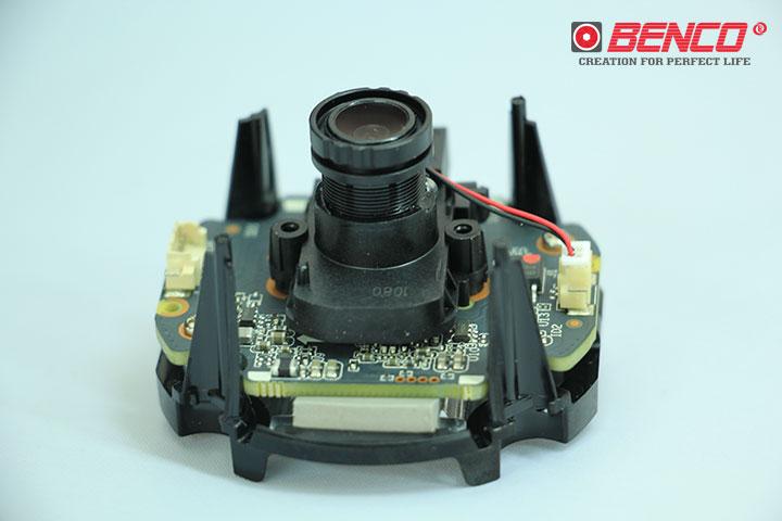 Thiết kế model bo mạch camera đồng bộ