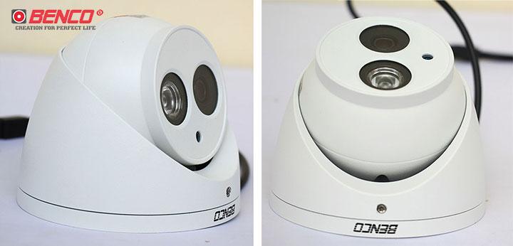 Ống kính camera có thể điều chỉnh góc quay linh hoạt