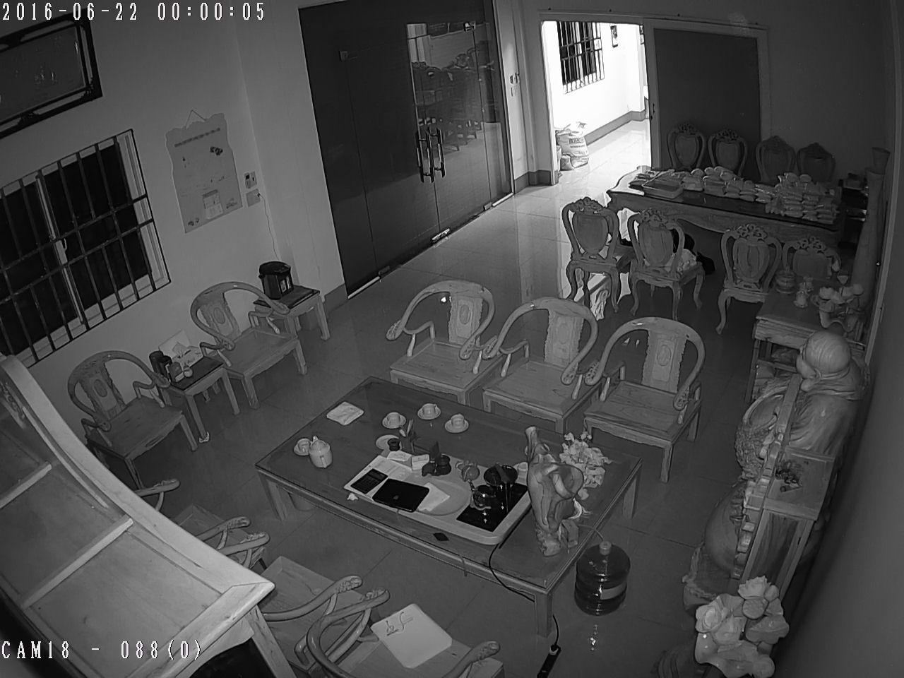 Hình ảnh thực tế ban đêm camera BEN - CVI1250DM
