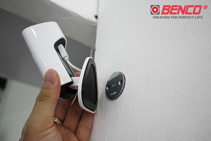 Camera lắp đặt dễ dàng lên tường
