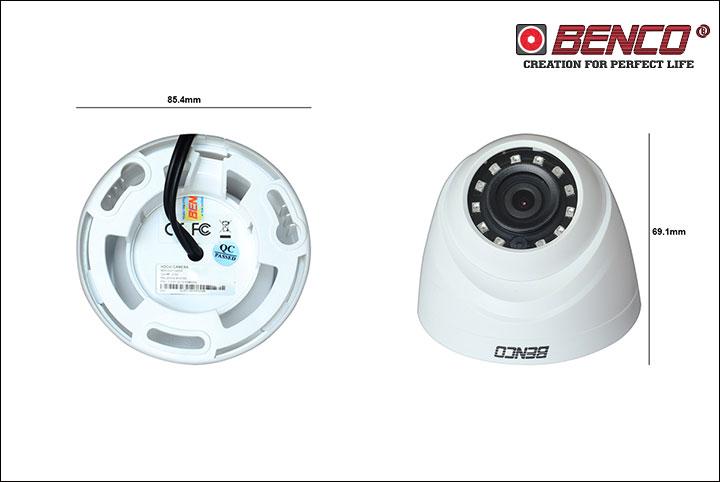 Kích thước camera BEN - CVI1220DP