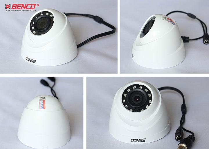 Các góc cạnh khác nhau của camera BEN - CVI1220DP