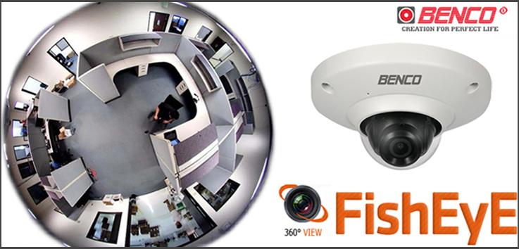 Camera quan sát toàn cảnh với góc quan sát 360 độ