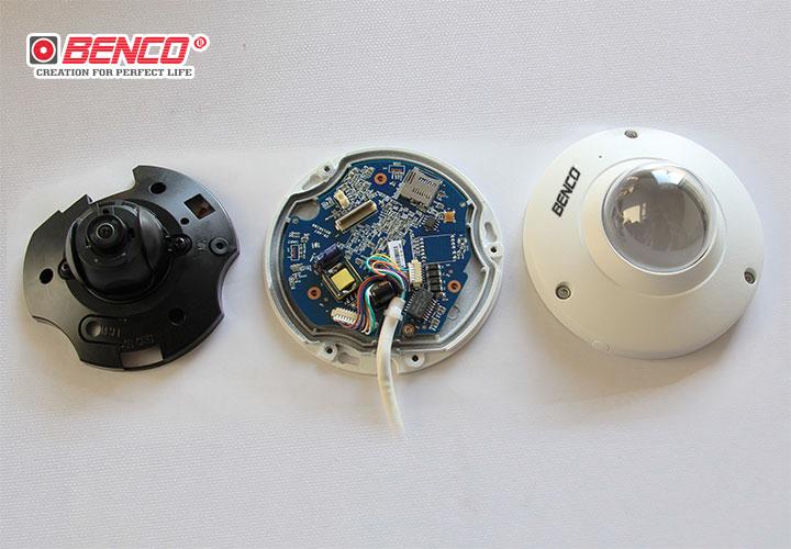 Cấu tạo bên trong của camera BEN-IPC1400DMF