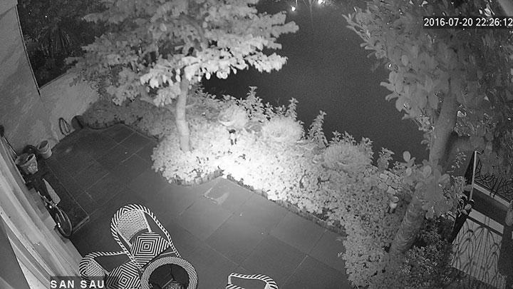 Hình ảnh ban đêm trích xuất từ camera BEN - CVI1120BP