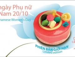 Paris Gâteaux: Mừng ngày phụ nữ Việt Nam