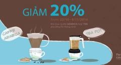 Paris Gâteaux ra mắt cà phê Arabica và Trà nguyên vị pha bằng ấm thông minh