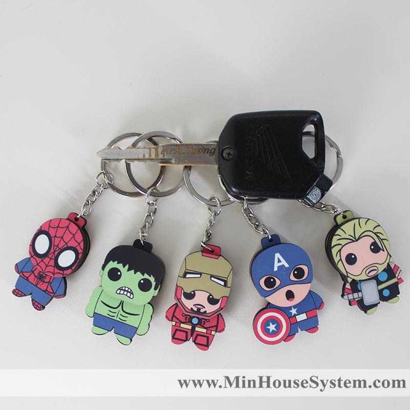 moc khoa go avenger