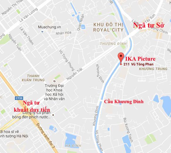 Hinh anh dia chi ban tranh son dau dep nhat Ha Noi IKA Picture