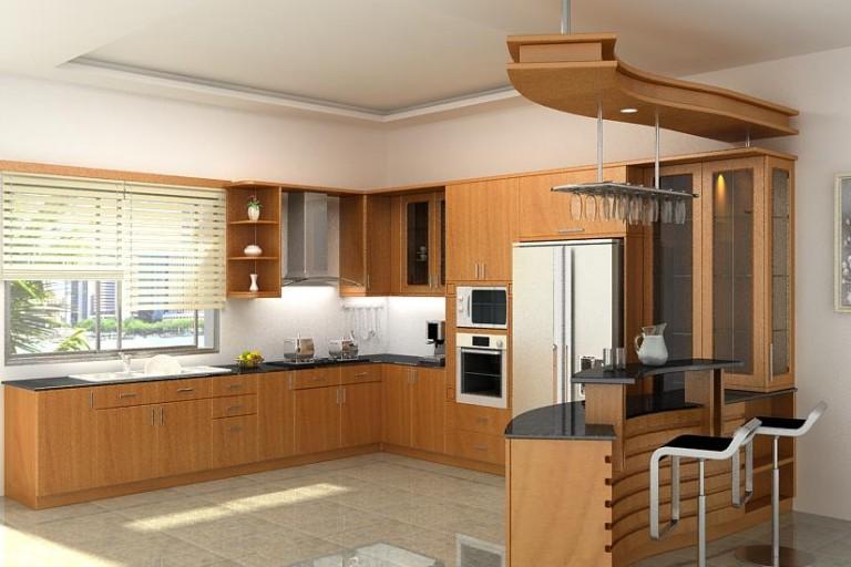 Xu hướng lựa chọn tủ bếp gỗ sồi nga