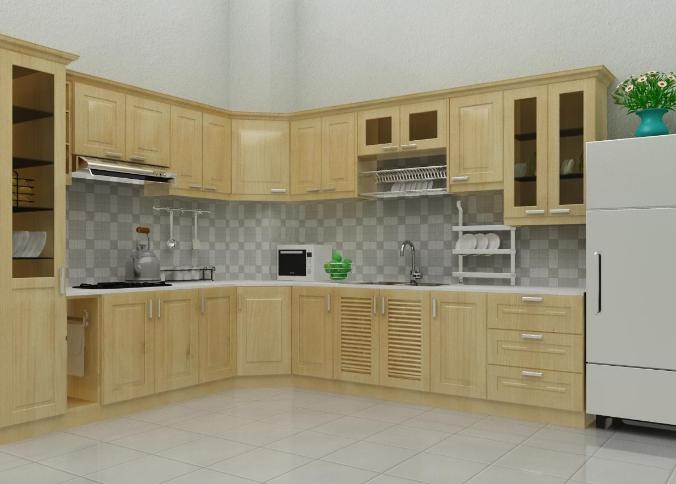 xu hướng lựa chọn tủ bếp gỗ sồi nga hiện nay