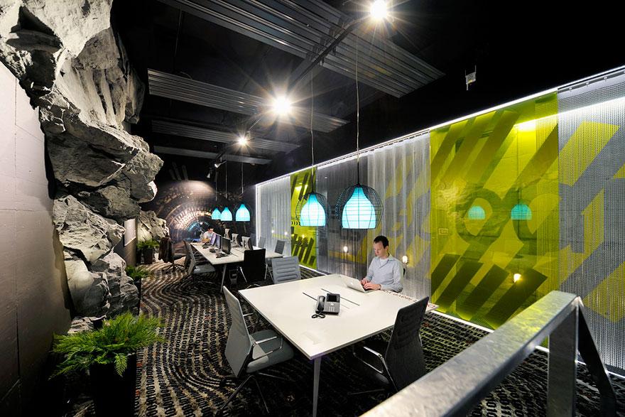 Những văn phòng làm việc có thiết kế đẹp, lạ, thú vị và độc đáo nhất thế giới