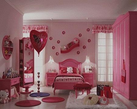 cách trang trí phòng ngủ cho bé gái thêm sinh động