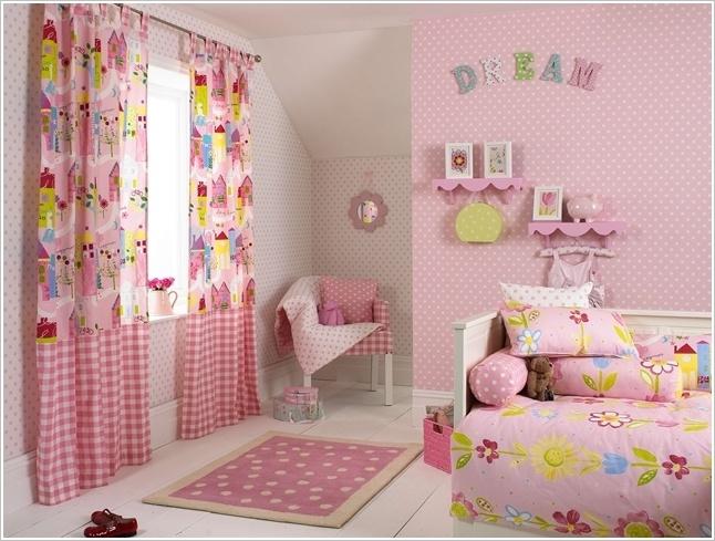 Một số cách trang trí phòng ngủ cho bé gái