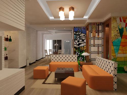 Thiết kế nội thất nhà phố phong cách hiện đại