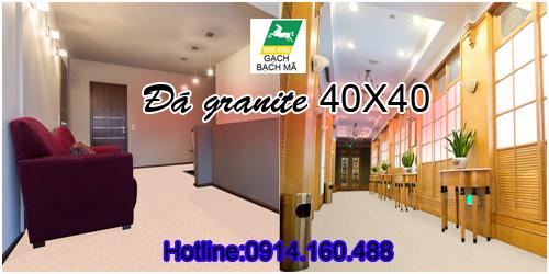 Gạch Granite Bạch mã WHITE HORSE 400x400