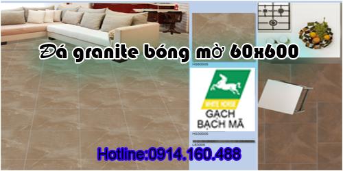 Gạch Granite Bạch mã WHITE HORSE 600x600