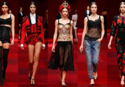 Dolce&Gabbana Summer 2015 Womens Fashion Show