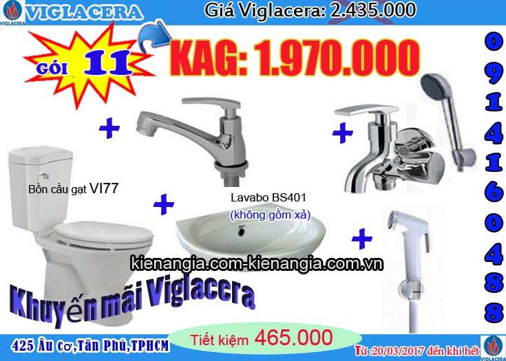 VIGLACERA khuyến mãi giá rẻ cầu tặng lavabo 0914160488