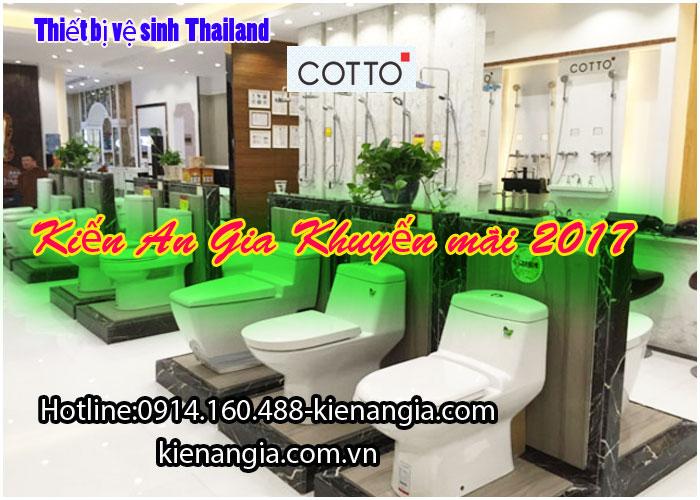 khuyến mãi bồn cầu Thailand COTTO 0914160488