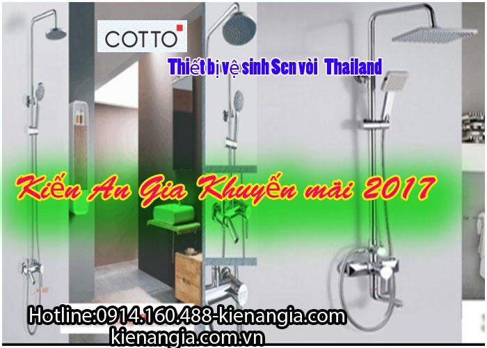 khuyến mãi sen vòi nhập khẩu Thái lan 2017-KIẾN AN GIA