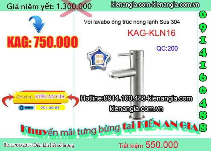 Khuyến mãi sen vòi inox sus304 2017 tại kienangia.com