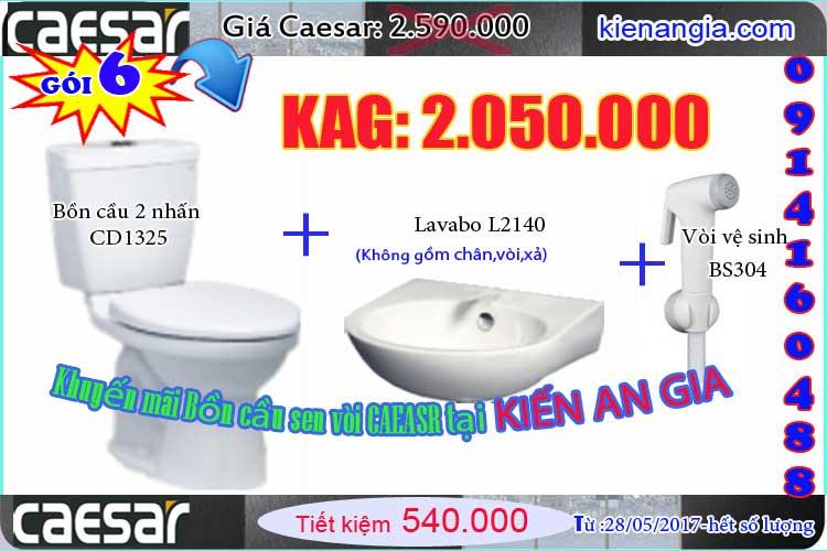 BIGSALE-Khuyen-mai-Caesar 2017-CT1325-0914160488