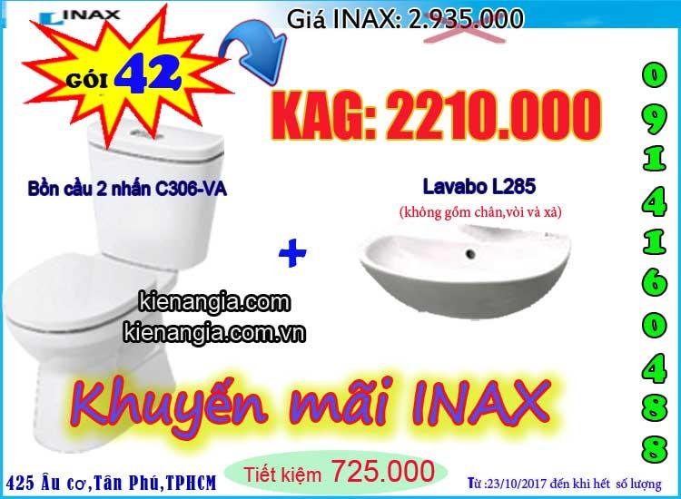 KIẾN AN GIA khuyến mãi mùa đông INAX C306 2017-0914160488