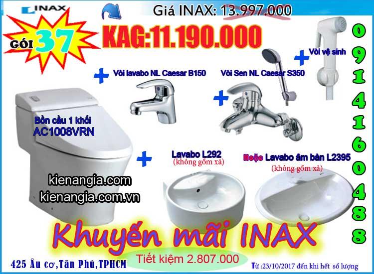 KIẾN AN GIA khuyến mãi mùa đông INAX AC1008 2017-0914160488