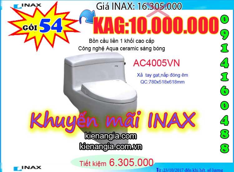 KIẾN AN GIA khuyến mãi mùa đông INAX AC4005 2017-0914160488