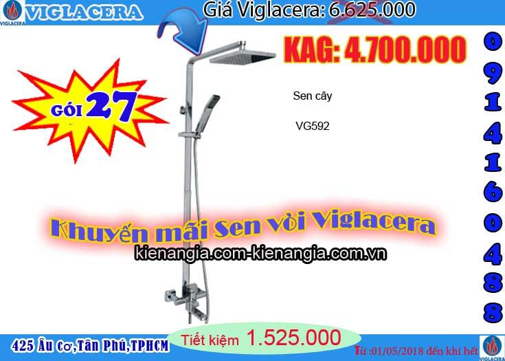 Khuyến mãi 2018 sen cây Viglacera VG592 0914160488