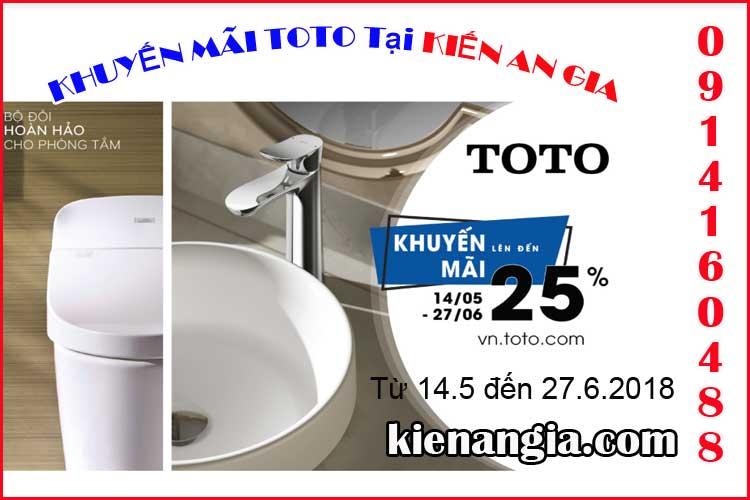 Khuyến mãi sen-voi- TOTO-0914160488-Kienangia