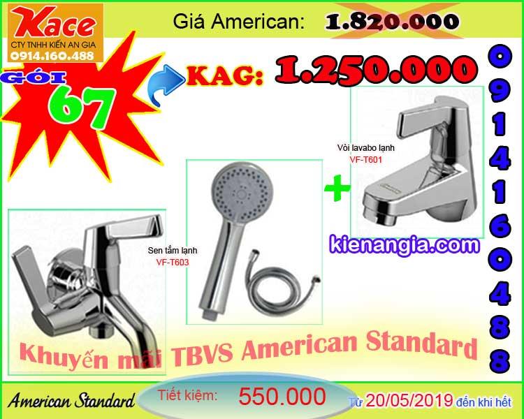 Khuyến mãi mùa hè Sen vòi American standard tại KIẾN AN GIA 0914.160.488