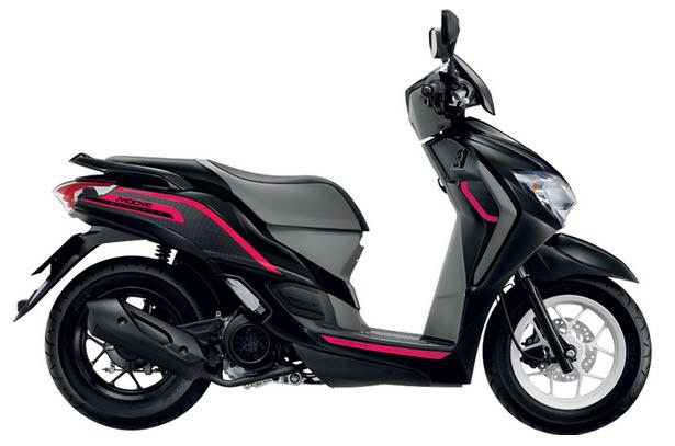 Honda Moove 110cc 2016 (Đen Hồng)