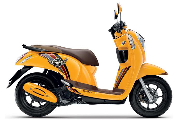 Honda Scoopy-i Prestige 2016 (Màu Vàng)