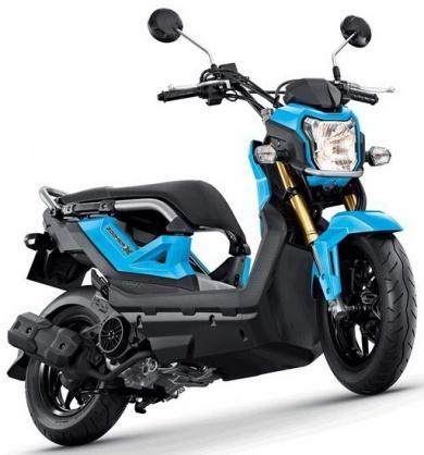Honda Zoomer-X 110cc 2016 Xanh dương