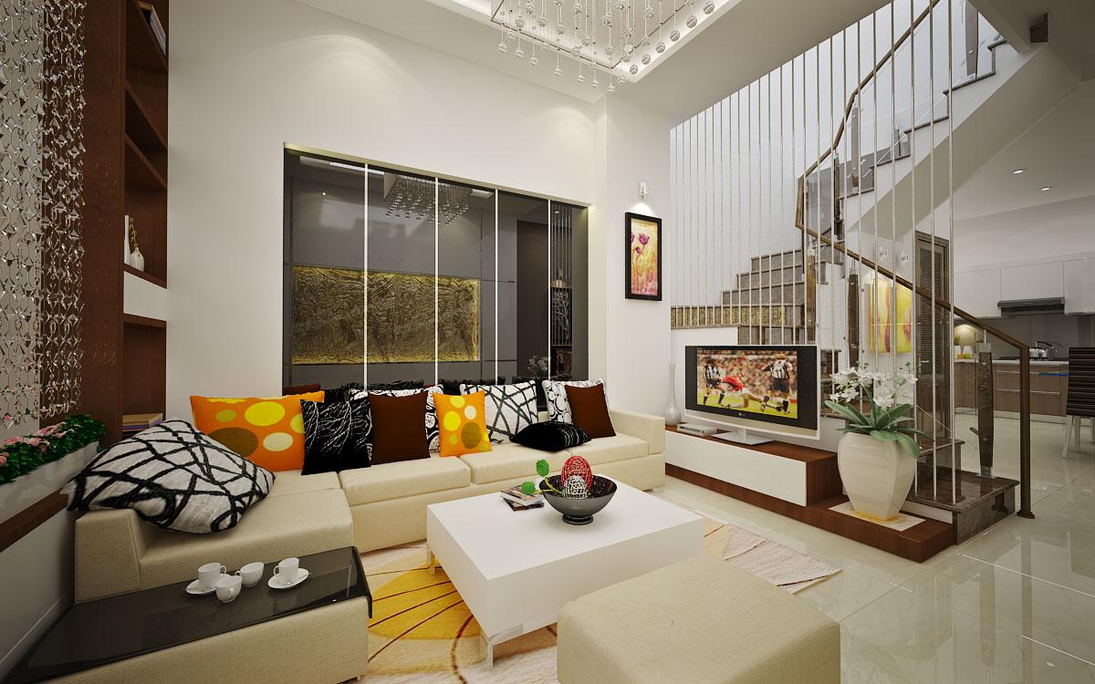 Thiết kế nội thất biệt thự hiện đại theo tiêu chuẩn SNIP của Nga